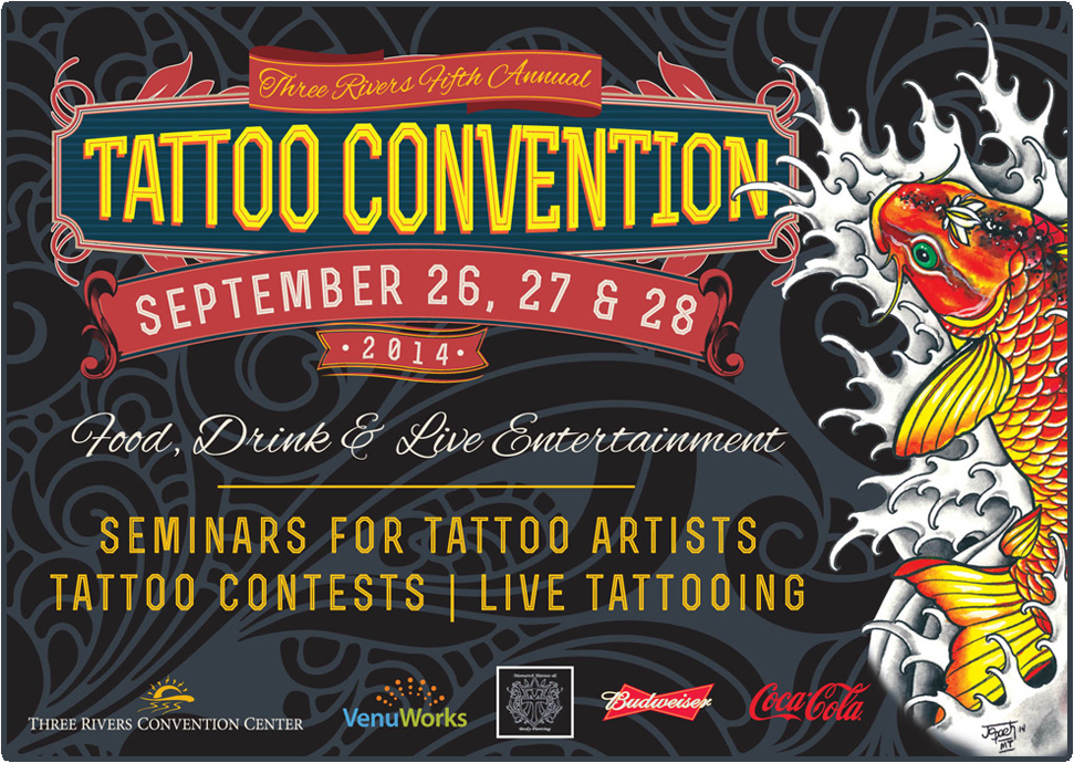 Three Rivers Convention Center - Tattoo Convention